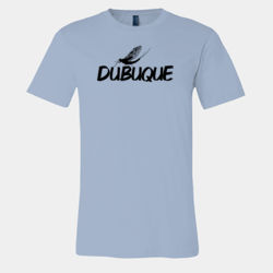 Dubuque Fish Fly Retro T-Shirt Thumbnail