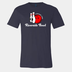 Riverside Bowling Lanes, Dubuque, Iowa Retro T-Shirt Thumbnail