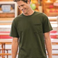 HD Cotton T-Shirt with a Pocket Thumbnail