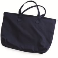 10 Ounce Cotton Canvas Tote with Zipper Top Closure Thumbnail