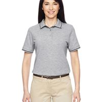 Ladies' 5.6 oz. Tipped Easy Blend™ Polo Thumbnail