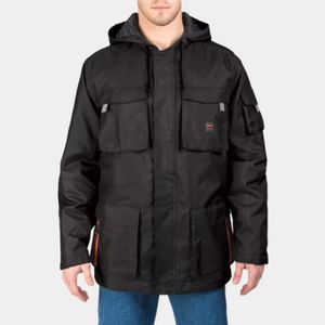 Men's Modern Work Cut & Shoot Hooded Coat Thumbnail
