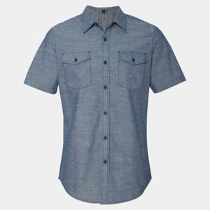 Chambray Short Sleeve Shirt Thumbnail