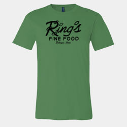 Rings Fine Food Restaurant, Dubuque, Iowa Retro T-Shirt Thumbnail