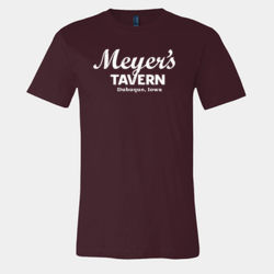 Meyer Tavern, Dubuque, Iowa Retro T-Shirt Thumbnail